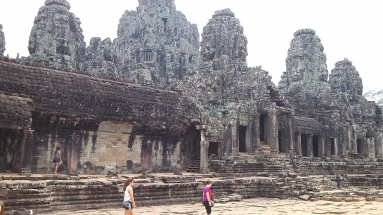 Major temple in Angkor Thom (I forget the name).